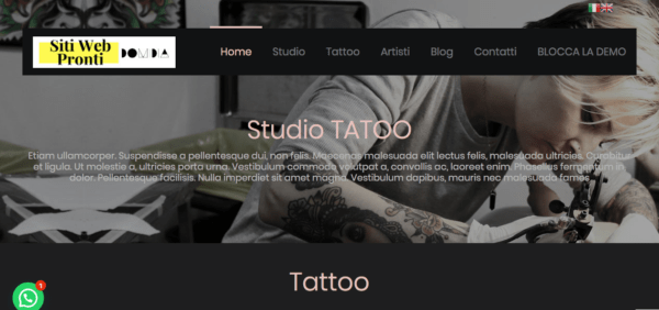 sito web tattoo